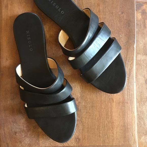 714e95aedbc Nisolo Camilla Slide Sandal in Black